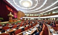 Các đại biểu tham dự Hội nghị Trung ương