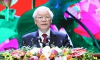 Tổng Bí thư, Chủ tịch nước Nguyễn Phú Trọng (ảnh Như Ý)