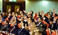 Hội nghị Trung ương 11 đã khai mạc tại Hà Nội (ảnh: Như Ý)