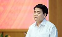 Ông Nguyễn Đức Chung, Chủ tịch Hà Nội