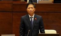 Quốc hội tiếp tục chất vấn Bộ trưởng Bộ Công thương