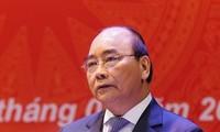 Thủ tướng Nguyễn Xuân Phúc khẳng định vụ việc ở Đồng Tâm sẽ được xử lý nghiêm minh, đúng pháp luật, công khai, minh bạch. Ảnh: QH
