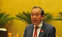 Phó Thủ tướng Trương Hòa Bình chủ trì cuộc họp