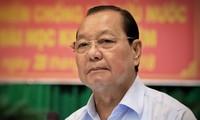 Ông Lê Thanh Hải, Nguyên Bí thư Thành ủy Thành phố Hồ Chí Minh