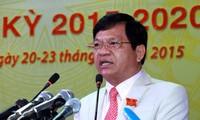 Ông Lê Viết Chữ, Bí thư tỉnh ủy Quảng Ngãi