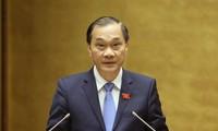 Chủ nhiệm Uỷ ban Kinh tế Vũ Hồng Thanh (ảnh Nhật Minh)