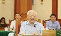 Tổng Bí thư, Chủ tịch nước Nguyễn Phú Trọng (ảnh: Phúc Minh)