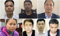 Nhiều cán bộ, đảng viên của Hà Nội bị khởi tố, bắt tạm giam do liên quan đến vụ án Nhật Cường