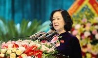 Trưởng Ban Dân vận Trung ương phát biểu chỉ đạo Đại hội Đảng bộ Tinh Hà Nam.