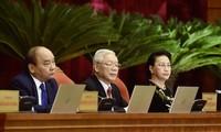 Tổng Bí thư, Chủ tịch nước Nguyễn Phú Trọng phát biểu khai mạc hội nghị (ảnh Nhật Minh)