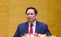 Ông Phạm Minh Chính được đề cử để bầu làm Thủ tướng Chính phủ