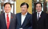 Miễn nhiệm Phó Thủ tướng Trịnh Đình Dũng, Bộ trưởng Ngô Xuân Lịch và Bộ trưởng Phùng Xuân Nhạ