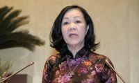Bà Trương Thị Mai làm Trưởng Ban Tổ chức Trung ương
