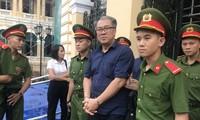 Bị cáo Phạm Công Danh. Ảnh Văn Minh
