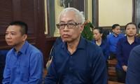 Bị cáo Trần Phương Bình trong phiên tòa sáng