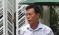 Ông Nguyễn Hải Nam. Ảnh: Cắt từ clip