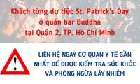Thông báo khẩn tìm khách dự tiệc St. Patrick's Day tại quán bar ở Thảo Điền