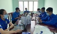 Áo xanh nơi tuyến đầu chống dịch Covid-19