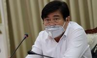 Ông Nguyễn Thành Phong, Chủ tịch UBND TPHCM. Ảnh TTBC