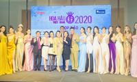 Dàn người đẹp dự họp báo Hoa hậu Việt Nam 2020 'thả tim' trên thảm đỏ