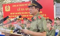 Thiếu tướng Lê Hồng Nam phát động ra quân trấn áp tội phạm