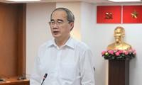 Bí thư Thành ủy Nguyễn Thiện Nhân: Đại hội của Đảng cũng là Đại hội của Nhân dân