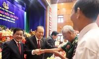 Hình ảnh lãnh đạo Trung ương dự khai mạc Đại hội Đảng bộ Long An
