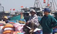 Cảnh ngư dân phấn khởi ra khơi đầu năm lấy lộc
