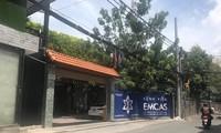 Bệnh viện thẩm mỹ Emcas nơi xảy ra vụ việc.