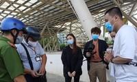 TP. HCM: Nhiều bạn trẻ bị xử phạt vì không đeo khẩu trang nơi công cộng