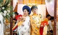 Cặp đôi lựa chọn Việt phục trong lễ cưới của mình