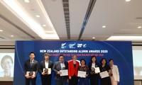 Đại sứ quán New Zealand vinh danh 6 cựu du học sinh Việt Nam