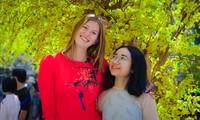 Những sinh viên quốc tế lần đầu trải nghiệm Tết Việt