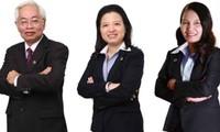 Từ trái qua phải: Ông Trần Phương Bình, bà Nguyễn Thị Ngọc Vân và bà Nguyễn Thị Kim Xuyến. Ảnh: Internet