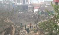 Rùng mình hố sâu 3m, đường kính 50m ở tâm vụ nổ tại Bắc Ninh
