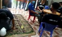 Phạm Văn Dũng diễn lại hành vi tội ác tại buổi thực nghiệm điều tra