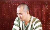Lưu Văn Nguyện tại cơ quan công an