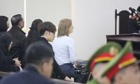 Bà Kolmakova Ekaterina Valerievna tại phiên tòa hôm nay