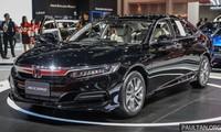 Honda Accord 2019 đang được trưng bày tại Bangkok International Motor Show. Ảnh: Paultan