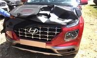Hyundai Venue lộ những hình ảnh rõ nét trước ngày ra mắt