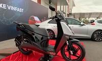 Xe máy điện lạ lẫm của VinFast lộ diện