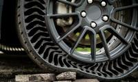 Xe GM sắp trang bị lốp không hơi độc đáo