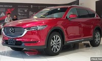 Mazda CX-8 đã từng xuất hiện tại Malaysia. Ảnh: Paultan