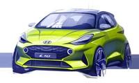 Hyundai i10 thế hệ mới sắp ra mắt với ngoại hình thể thao