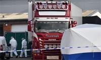 Việt Nam phối hợp Anh tìm hiểu quốc tịch 39 người trong xe container