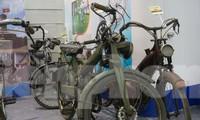 Xe đạp cổ giá cả trăm triệu đồng tại triển lãm ở Hà Nội