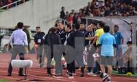 HLV Park Hang Seo nổi cơn tam bành vì đòn tâm lý của đối phương