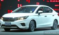 Honda City mới với động cơ 1.0L tăng áp ra mắt ở Thái Lan