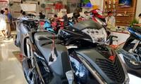 Honda SH cũ được dịp tăng giá tại các đại lý.