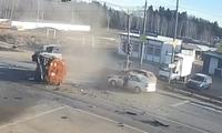 Xe bồn sang đường bất cẩn gây tai nạn liên hoàn